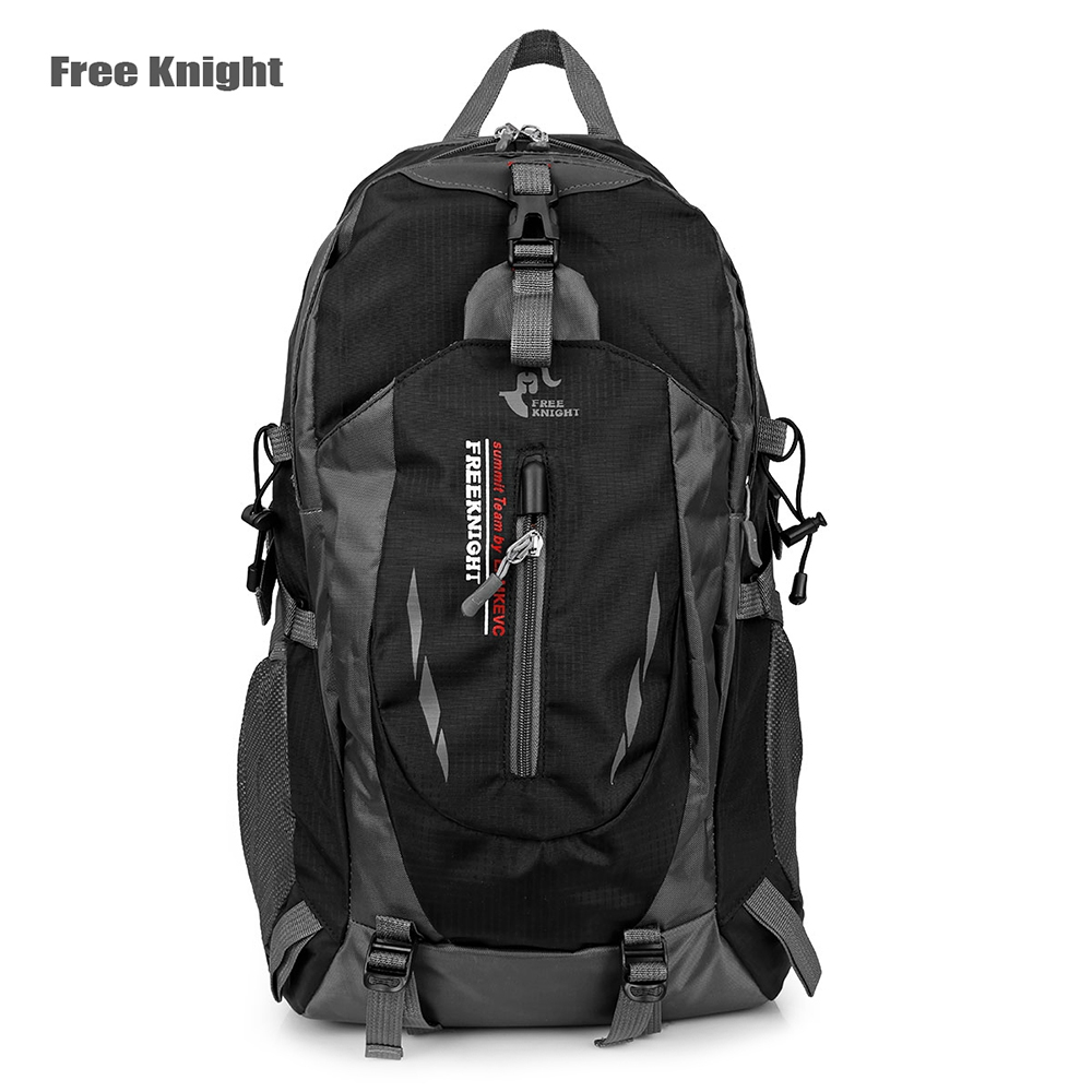 free knight outdoor water resistant rucksack travel backpack 40l polyester hiking camping bag unisex backpack water