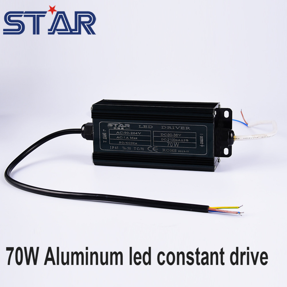 70W Constant Current LED Driver Waterproof AC100-240V DC30-36V Ceiling Lights Transformer Power Supply for LED Lights Lamps<br><br>Aliexpress
