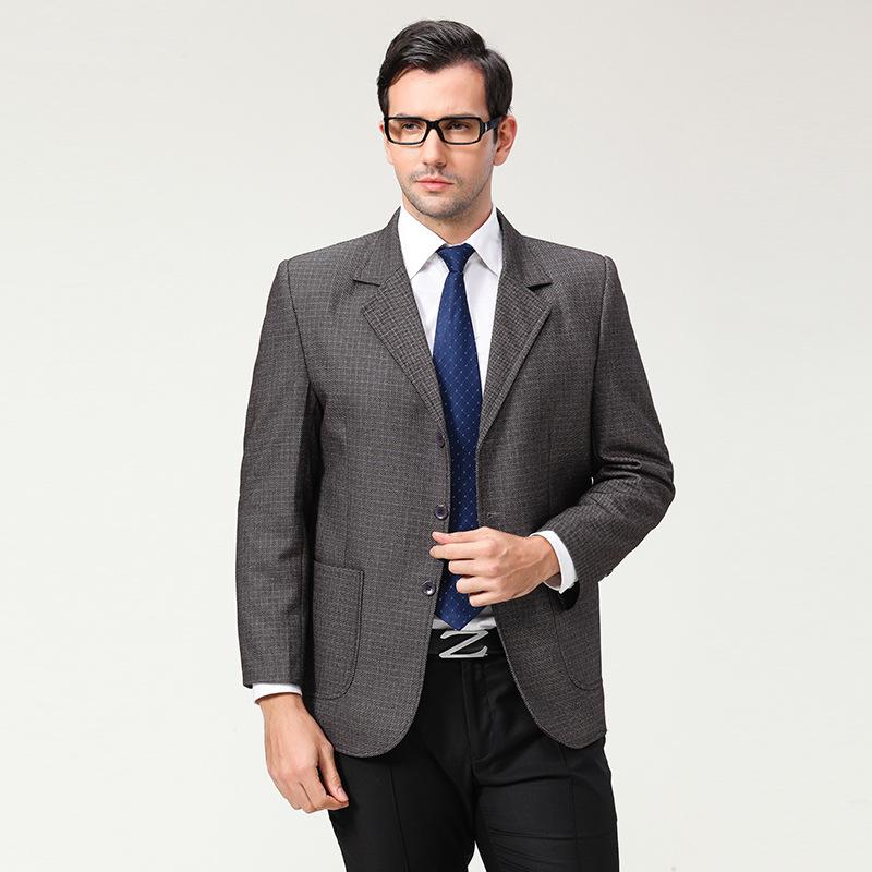 2016 New Arrival Spring Business Blazer Men Terno Brand Slim Fit Casual Plus Size XXXL 4XL Grey Blazer Masculino Suit Jackets(China (Mainland))