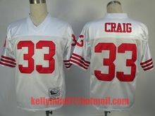 100% Stitiched,San Francisco 49ers,Steve Young,Joe Montana,Roger Craig,Deion Sanders,Throwback for men(China (Mainland))