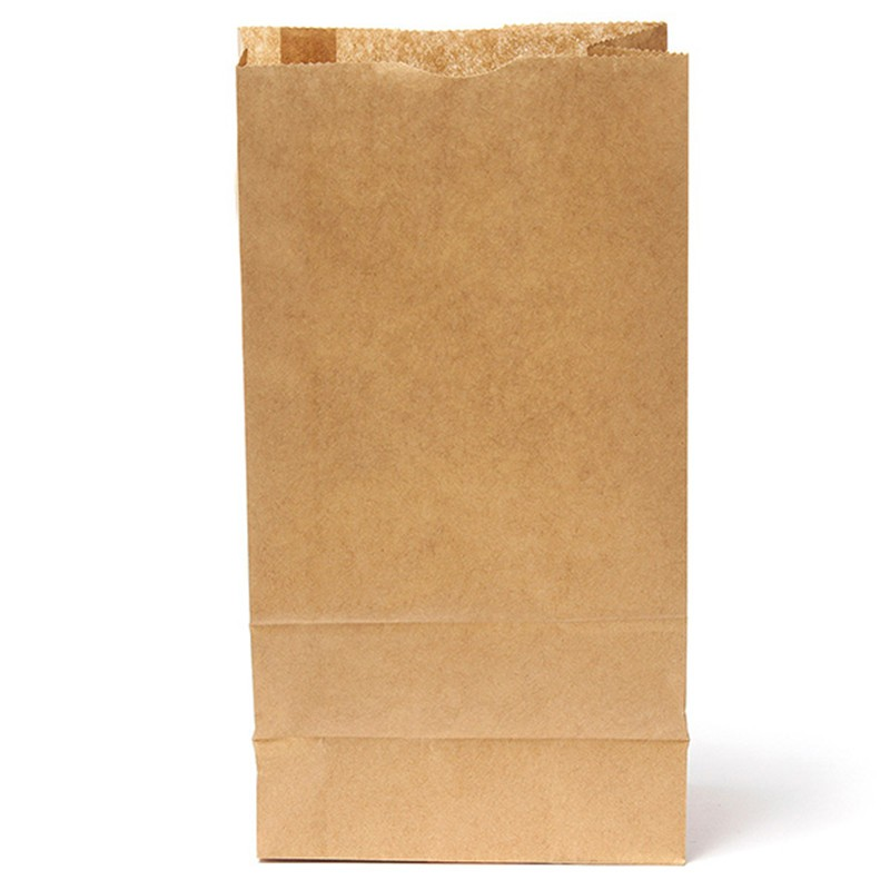 10 PCS Kraft Paper Small Gift Bags Sandwich Bread Bags Party Wedding Favour 25X12.5X7.5 cm Paper Gift Bags(China (Mainland))