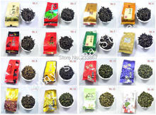 Super Popular 26 Different Flavor Famous Tea Chinese Tea Oolong Tea(cha)(TieGuangYin,Milk oolong,Dahongpao)FREE SHIPPING