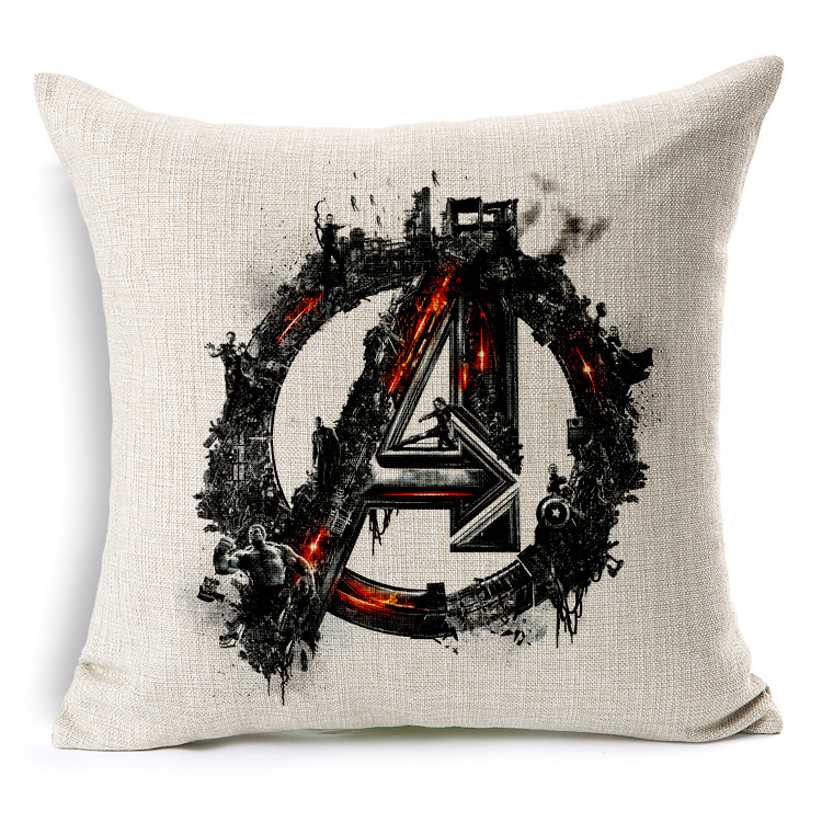Avengers pillow cover Hulk Thor Iron man Captain America
