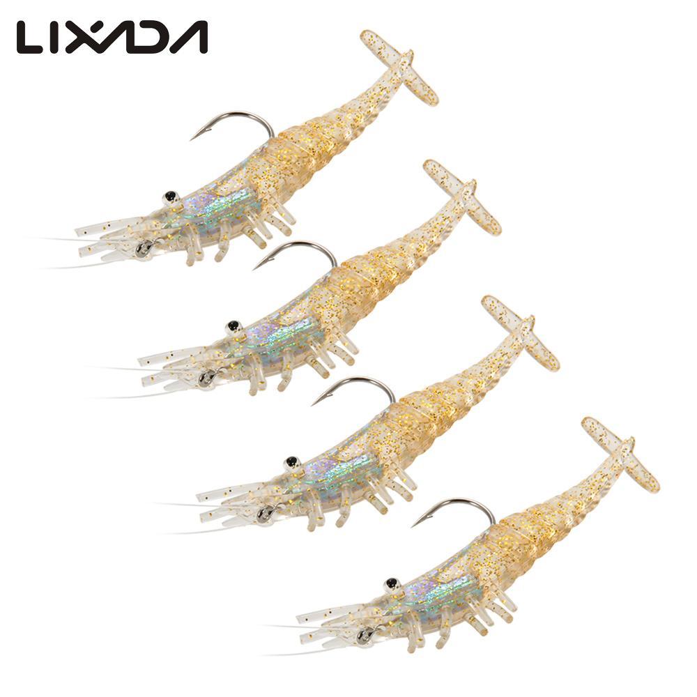 Lixada Soft Shrimp Artificial Bait Lure Lobster Crayfish Fishing Baits Carp Bass Fishing Baits Fishing Lure Carp Soft Bait(China (Mainland))