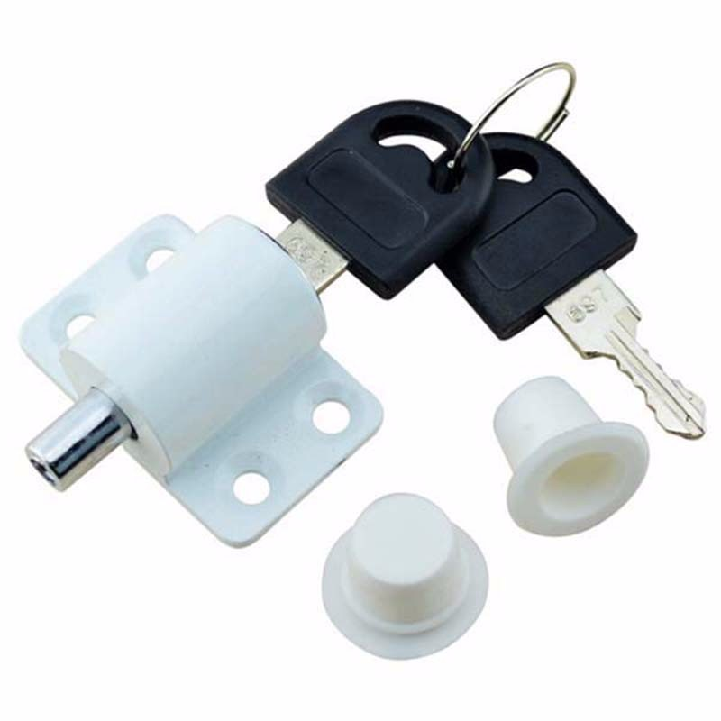 5 pieces/lot free shipping sliding window lock with key child safety protection lock anti-theft door lock push window