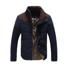 Winter Jacket Men 2015 Men S Fashion Stand Collar Cotton Jacket Outdoor Warm Coat The Northe