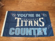 Buy Tennessee Titans Flag 3x5 FT Banner 100D polyester NFL flag, free for $5.68 in AliExpress store