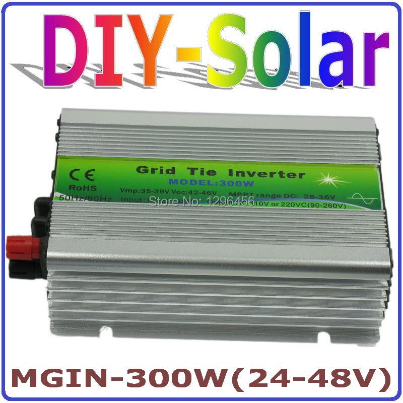 Здесь можно купить  300W Grid Tie Inverter, 36V panel / 72cells, 24-48VDC Pure Sine Wave Micro Inverter, 90-260VAC Full Voltage Output MPPT Function  Электротехническое оборудование и материалы