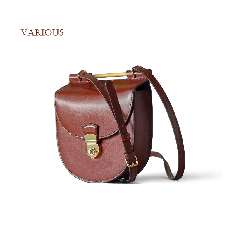 New 2015 Brand Design Soil High Quality Genuine Leather Shoulder Bags Women Middle Ages Vintage Messenger Bag Ladies Leather(China (Mainland))
