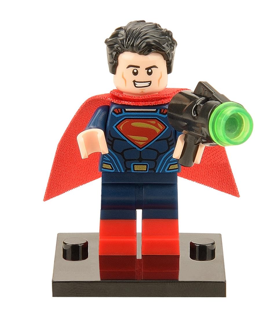 DC Super Heroes Batman vs. Superman Minifigures Building Blocks Superman 100pcs/lot Model Bricks Toys Figures<br><br>Aliexpress