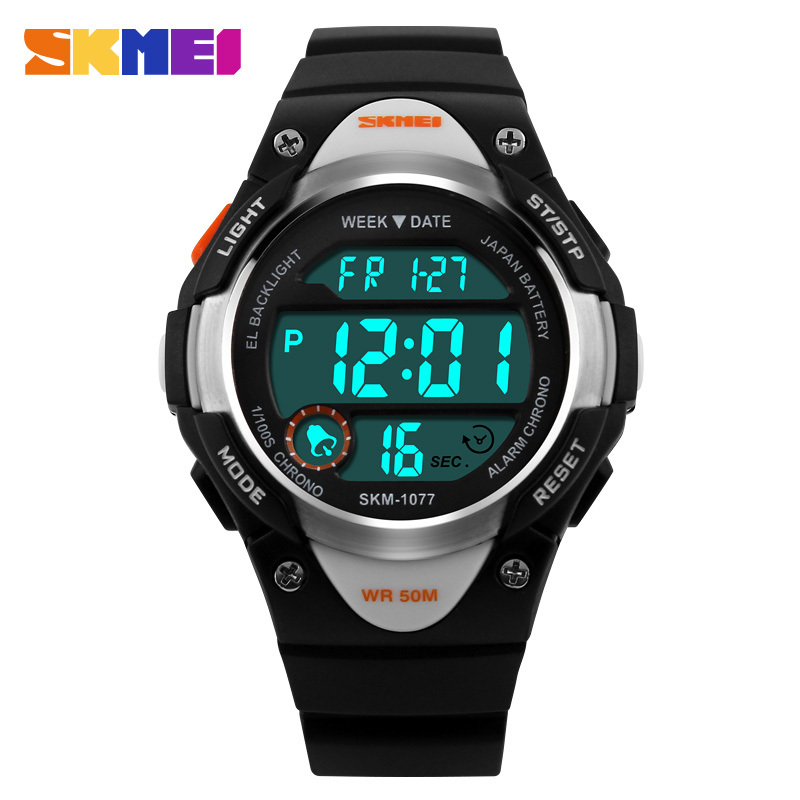SKMEI Children Digital Watch Outdoor Sports Watches Boy Kids Girls LED Alarm Stopwatch Wrist watch Children's Dress Wristwatches(China (Mainland))
