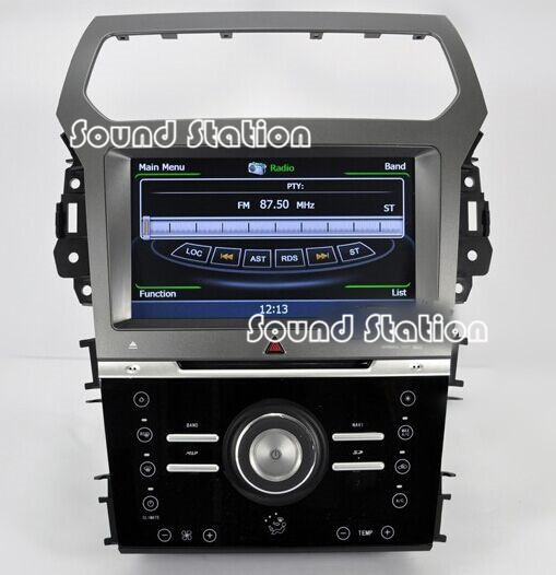 For Ford Explorer 2012 2013 Car DVD GPS Navigation Media Center Radio Video Central Multimedia Multimidia Autoradio Head Unit(China (Mainland))
