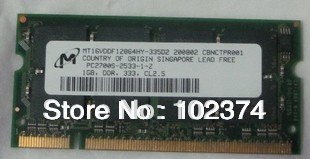 Memory 1GB 2GB 512MB ddr1 333 ram compatible laptop tc1100,T5720,dv1000,nx4800,nc800 other models,compatible with ddr 266 laptop(China (Mainland))