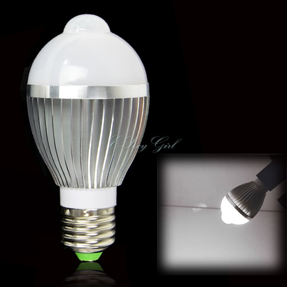 motion sensor white light bulb lamp motion led bulb in led bulbs. Black Bedroom Furniture Sets. Home Design Ideas