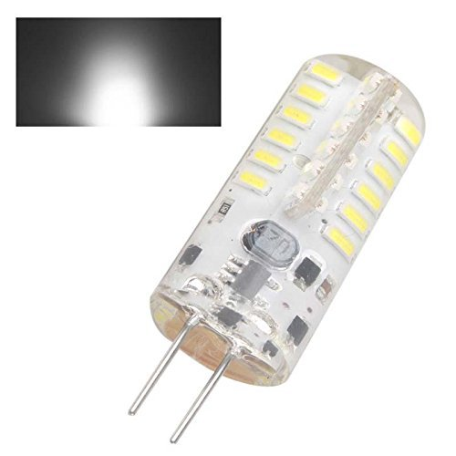 4x G4 48 LED Light Bulb Lamp 5 Watt AC DC 12V Undimmable Equivalent to 20W T3 Halogen Track Bulb Replacement Beam Angle(China (Mainland))