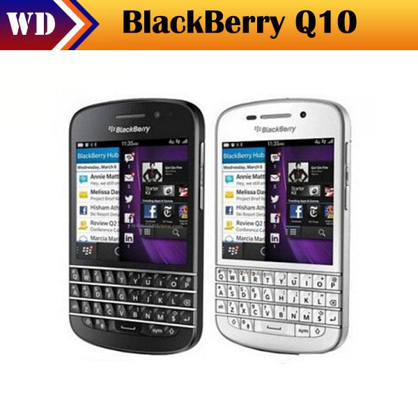 Q10 Original Unlocked Blackberry Q10 8MP 2GB RAM+16GB ROM 4G Network FM Wi-Fi Mobible Phone(China (Mainland))