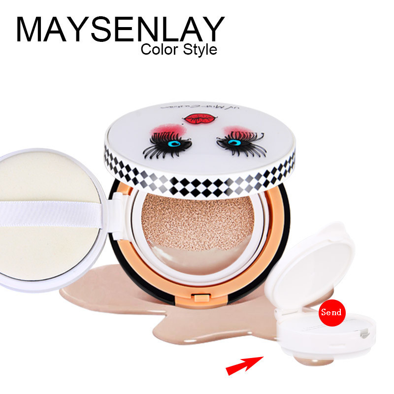 Гаджет  MAYSENLAY Korean air cushion bb cream foundation Large dolls cc cream send replacement None Красота и здоровье