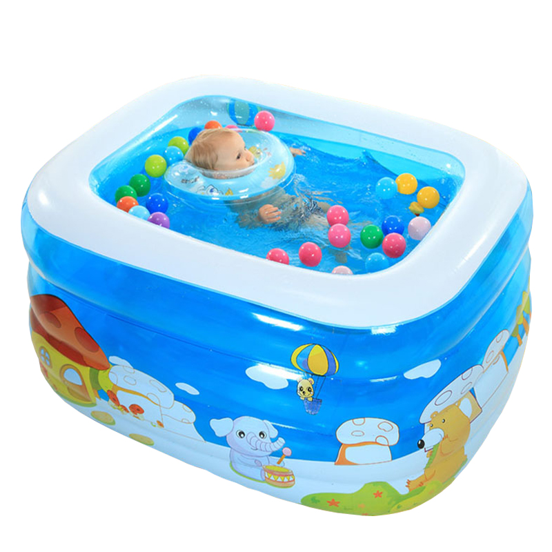 2016 New Arrival Child Ocean Pool Play Toys Inflatable Ball Pool For Baby Swimming Pool Kiddie Pool 110*85*68cm PVC(China (Mainland))