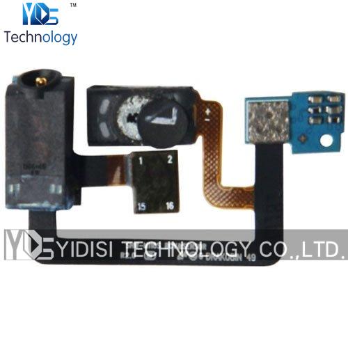 10pcs/lot Original For Samsung Galaxy S i9000 Headphone Audio Jack Earpiece Ear Speaker Flex Cable Ribbon Repair Parts Wholesale
