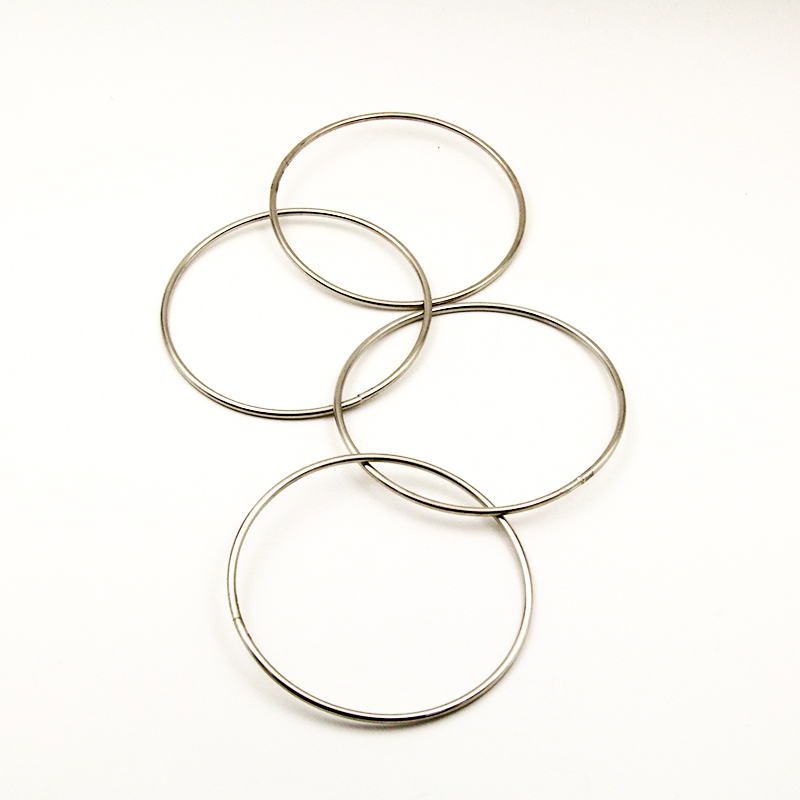 20sets/lot Four Connected Rings Kit Four China Linking Rings 10cm diameter Close Up Magic Tricks Magic Props 82113(China (Mainland))