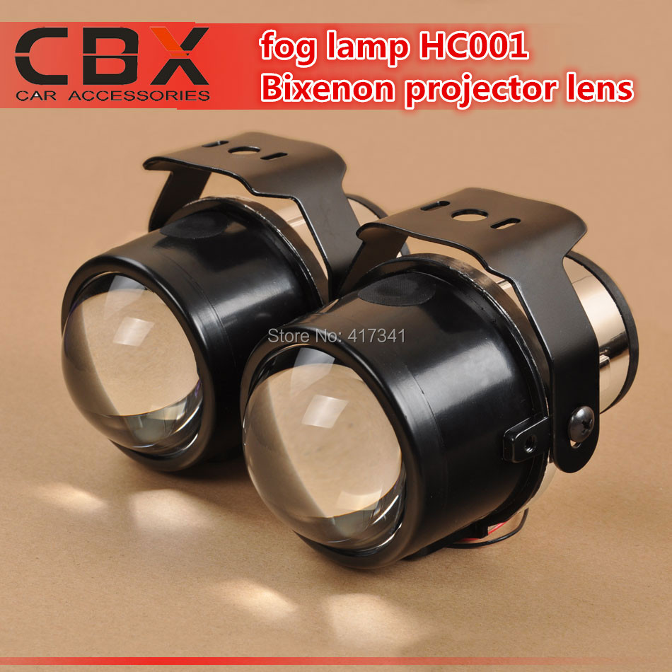 CBX Super Bright HID Bixenon Projector Lens Fog Lamp with Hi/Lo Beam Waterproof Bifocal Fog Lens HC001 Universal for Cars Light<br><br>Aliexpress