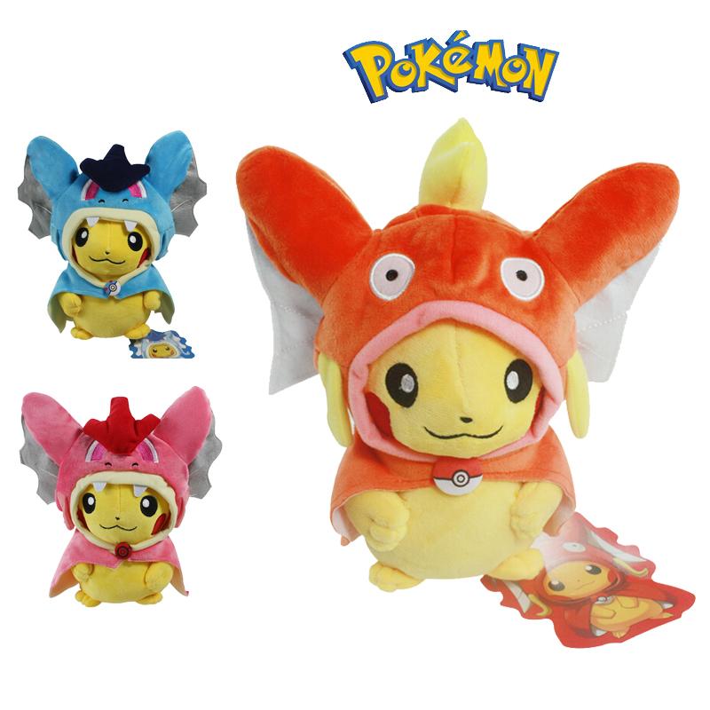 22cm Pokemon Plush Doll Pikachu Cosplay X Magikarp Brinquedo Plush Toys Fashion Cartoon Kids Birthday Christmas Gift Movies & TV(China (Mainland))