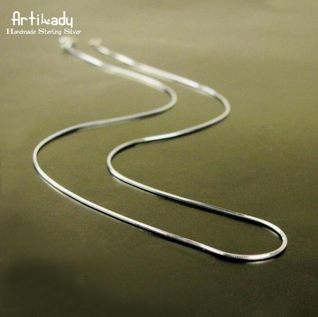 Artilady италии ручной стерлингового серебра 925 колье ожерелье мода женщин змея ...