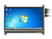 Rev2 1 7inch HDMI LCD 800 480 Capacitive Touch Screen Display Touch Shield for Raspberry Pi