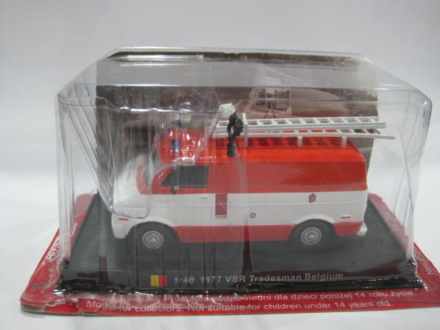 1:43 1977 Tradesman Belgium Alloy Fire truck Model Toy Free shipping(China (Mainland))