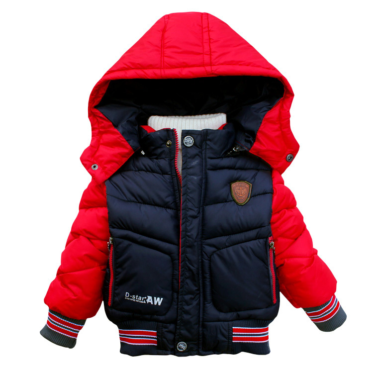 2015 Fashion Brand Boys Winter Coats Winter Jackets Children Jackets Casaco Menino Thickening Cotton-Padded Outerwear Boy Coat(China (Mainland))