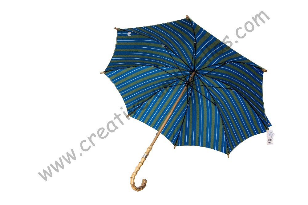 (3pcs/lot)) straight nature bamboo umbrellas,210T pongee double layers,hand open for Spain Market,High-grade umbrella(China (Mainland))