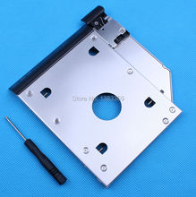 2nd HDD SSD Hard Drive Caddy Adapter with eject / lock latch mechanism for Dell Latitude E6320 E6420 E6520 E6330 E6430 E6530
