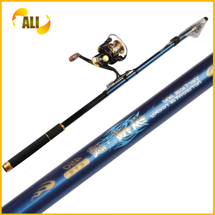 Telescopic boat fishing rod images for Boat fishing rods