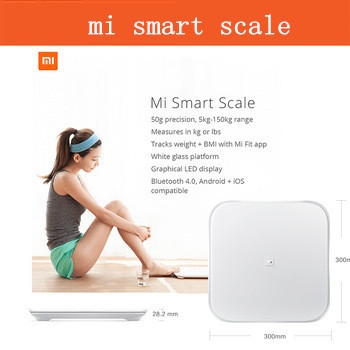 Домашние весы Xiao mi 100% xiaomi 4.4 ios7.0 bluetooth4.0 Samrt xiaomi mi smart weighing scale напольные весы xiaomi mi smart scale