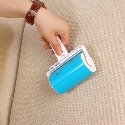 Washable Home Sheet Pet Hair Dust Remover Clothes Cleaning Sticky Lint Roller 9Y4T(China (Mainland))
