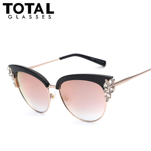 2016 NEW Exaggeration Fashion Cat Eye Sunglasses Women ...