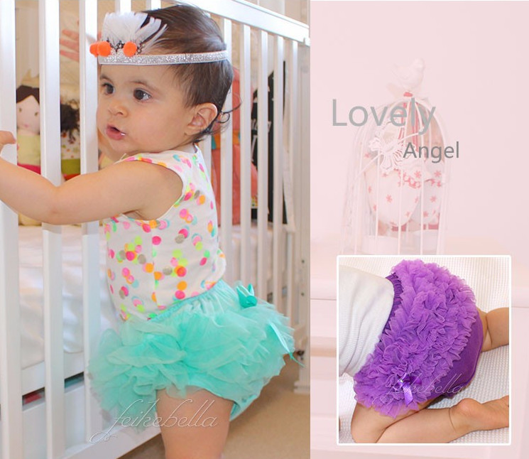 Solid Baby Shorts Girl Bloomers Diaper Cover Newborn Ruffled Panties 2015 New Infant Toddler For Lovely 0-2 years Free Shipping(China (Mainland))