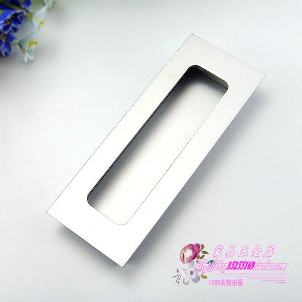 LD8801 dark space aluminum handle cabinet drawer sliding door handle handle 11CM<br><br>Aliexpress