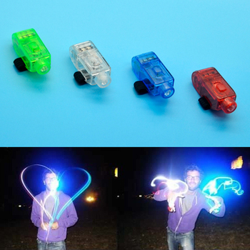 Free Shipping Cute Flashing Finger Light 4 Colors Laser LED Ring For Birthday Party Celebrate B123