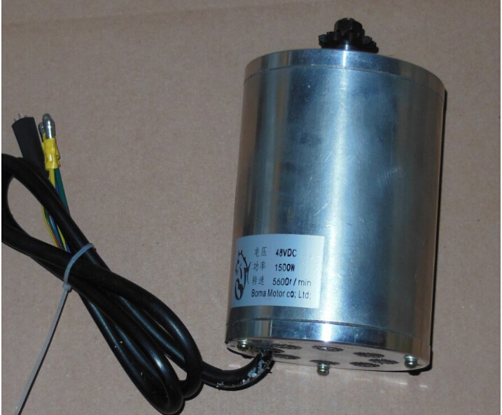 1500W 48V DC gear brushless motor , Electric scooter motors, electric fit EVO
