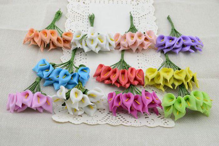 DIY handmade 12pcs / bouquet of artificial flowers foam bud corsage brooch bridal bouquets Horseshoe(China (Mainland))