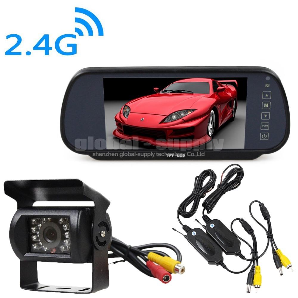 Авто и Мото аксессуары OEM 7/lcd + HD CCD , вольтметр oem lcd