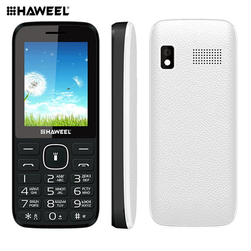 Russian Keyboard Haweel X1 Cell Phone Elder Phone 2.4 inch Dual SIM Super Big Speaker Support FM TF Torch MP3 1500mAh(China (Mainland))