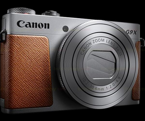 New Canon PowerShot G9X 20.2M Full HD Wi-Fi Digital Camera - Silver(Hong Kong)