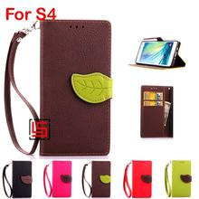 Buy New Deluxe Leaf Clasp Buckle PU Leather Flip Book Clamshell Wallet Phone Case etui Cover Bag Samsung Galaxy S4 GT I9505 Red for $8.23 in AliExpress store