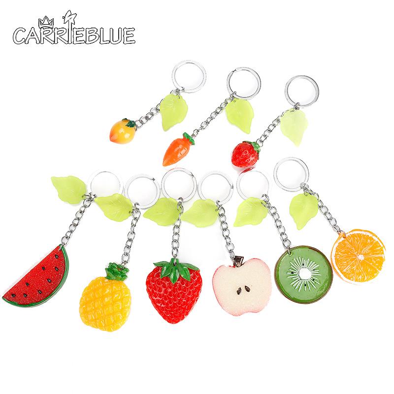 2016 New Hot Cute Acrylic Handbag Modelling Keychains Chain For Car Key Ring Bag Pendant Lover Romantic Creative Birthday KY03(China (Mainland))