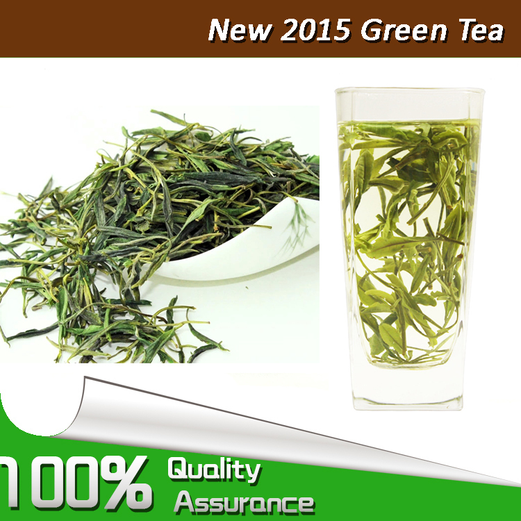 New Long Jing MaoFeng green tea Chinese tea infuser 2015 100% quality new farmers positive taste rhyme flavor free shipping(China (Mainland))