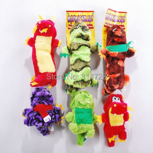 Free shipping exported to Europe and America markets PETSMART invincible dragon gator dog toys sounding toy with BB brinquedos(China (Mainland))