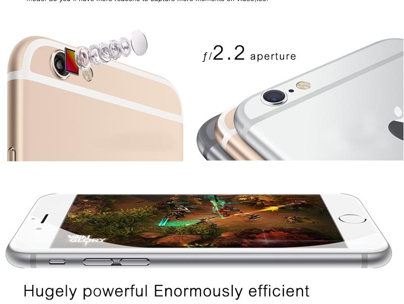 Original Apple iPhone 6 Unlocked Cell Phones 4.7'IPS 1GB RAM 16/64/128GB ROM LTE Smartphone Used Phone iOS Mobile Phone