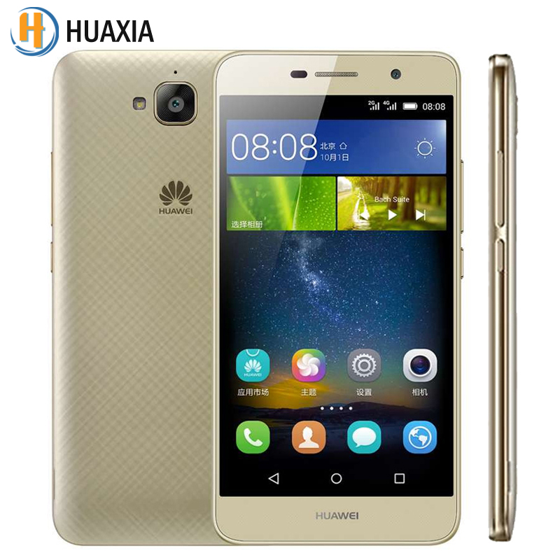 "Original Huawei Enjoy 5 Cell Phone Android 5.1 MTK6735 Quad Core 1.3GHz 2GB RAM 16GB ROM 5.0"" IPS 1280x720 13.0MP Camera Phone(China (Mainland))"